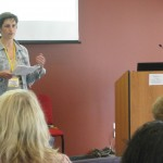 Patty Morrissey, CR Group Board Member and Head of Social Innovation at Groupon, introduced the speaker, Asha Curran.
